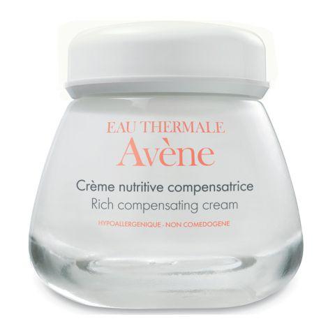 Авен Питательный компенсирующий крем  (Банка 50 мл)Уход за чувствительной кожей<br>Avene Rich compensating cream (Авен Питательный компенсирующий крем) для сухой, чувствительной кожи.<br>Крем с насыщенной, но легкой текстурой Avene Rich compensating cream идеален для ухода за сухой, чувствительной, ослабленной кожей лица и шеи. Сразу после его нанесения исчезает чувство сухости и стянутости, уходит краснота, заметно разглаживаются морщинки. Запатентованная формула трио-липидов скрепляет между собой клетки верхнего слоя эпидермиса, восстанавливая кожный барьер. В результате уменьшается потеря влаги, снижается риск развития воспалений.<br>Avene Rich compensating cream быстро впитывается с образованием нелипкой, нежирной пленки, которая защищает кожу от внешних раздражителей и препятствует обветриванию лица.<br>Активные компоненты:<br>термальная вода Авен дарит мгновенное ощущение комфорта, освежает, успокаивает, повышает жизненную активность клеток;<br>претокоферил (предшественник витамина Е) отражает атаки свободных радикалов, продлевая молодость кожи;<br>глицерин – мощный смягчитель и увлажнитель;<br>экстракт семян сои предотвращает потерю влаги и делает кожу гладкой, мягкой;<br>гидрированные пальмовые глицериды восстанавливают гидролипидный слой, увлажняют и разглаживают кожу, придают лицу ухоженный вид, проявляют антиоксидантные свойства.<br>В интернет-магазине Перфектория Avene Rich compensating cream и другие продукты из каталога можно купить в один клик, с доставкой в любой населенный пункт России и стран СНГ. Поместите все нужное в корзину и заполните электронный бланк заявки. Мы отправим посылку после подтверждения заказа вместе с подарками: каталогом вашей любимой марки и пробниками новинок. Оплата – наличными или банковской картой.<br>Правильно определить тип кожи и выбрать средства для решения дерматологических проблем поможет бесплатная консультация профессиональных косметологов по телефону или в онлайн чате.<br><br>Объем мл: 50<br>Тип кожи: сухой, чувств