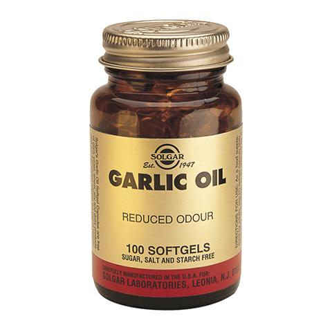 Солгар Чесночное масло Перлес (100 капсул) (Solgar)