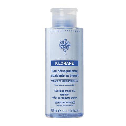Клоран Вода очищающая с экстрактом Василька  (Флакон с помпой 400 мл) (Klorane)