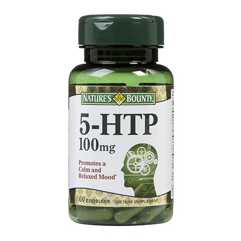 добавка пищевая Nature's Bounty Нэйчес Баунти 5-гидрокситриптофан 100мг (Банка 60 капсул) нэйчес баунти эхинацея натуральная 400 мг капсулы 100