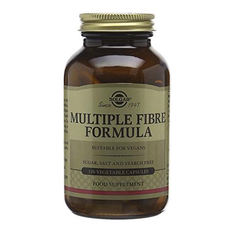 добавка пищевая Solgar Солгар Мульти формула пищевых волокон (Банка 120 капсул) экстракт грибов рейши шиитаке и мейтаке solgar 50 капсул