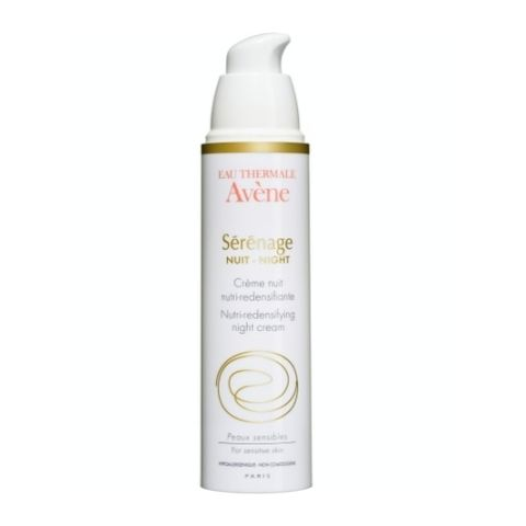 Авен Серенаж Ночной крем от морщин для зрелой кожи  (Флакон с дозатором 40 мл) (Avene)