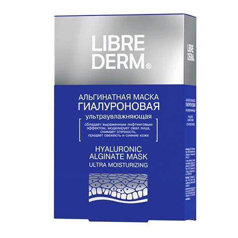 Либридерм Маска Альгинатная Гиалуроновая ультраувлажняющая (5 саше по 30 г) (Librederm)
