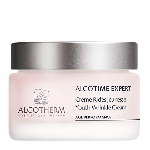 крем Algotherm Альготерм АльгоТайм Эксперт Омолаживающий крем от морщин (Банка 50 мл) маска algotherm альготерм альготайм эксперт омолаживающая витаминная маска туба 50 мл