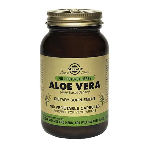 добавка пищевая Solgar Солгар Алоэ Вера (100 капсул) экстракт грибов рейши шиитаке и мейтаке solgar 50 капсул