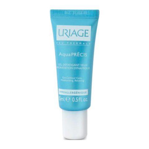 Урьяж Аквапреси Гель расслабляющий для контура глаз (Тюбик 15 мл) (Uriage)