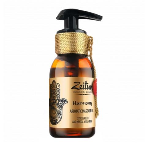 масло Zeitun Зейтун Масло ароматическое массажное Гармония (Флакон 100 мл) эфирные масла зейтун эфирное масло бэй