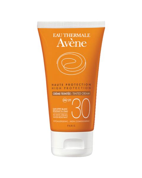 Авен Солнцезащитный Тонирующий крем SPF 30 (Туба 50 мл) (Avene)