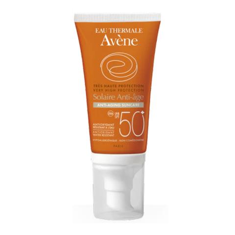 крем Avene Авен Крем солнцезащитный антивозрастной SPF 50+ (Туба 50 мл) beautymed солнцезащитный крем spf 30 beautymed 50 мл