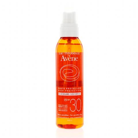 масло Avene Авен Масло солнцезащитное SPF30 (Флакон с распылителем 200 мл) бальзам avene авен физиолифт бальзам ночной регенерирующий флакон с дозатором 30 мл