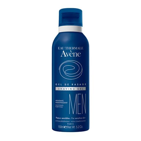 Авен Мен Гель для бритья (флакон с помпой 150 мл)Для мужчин<br>Av?ne Men Gel de rasage (Авен Мен Гель для бритья) для всех типов кожи, в том числе чувствительной и проблемной.<br>Гель Av?ne Men Gel de rasage делает процедуру бритья легкой и комфортной. Термальная вода Авен проявляет успокаивающие и противовоспалительные свойства, насыщает кожу влагой. Инновационное активное вещество ницидин уничтожает патогенные бактерии.<br>Авен Мен Гель для бритья идеален для чувствительной и проблемной кожи, особенно в сочетании со средствами после бритья из серии Av?ne Men.<br>Активные компоненты:<br>термальная вода Авен снимает раздражение и воспаление, глубоко увлажняет кожу, активизирует процессы регенерации;<br>глицерин смягчает кожу и волосы, обеспечивает длительное увлажнение эпидермиса;<br>глицин сои – увлажнитель и антиоксидант;<br>бисаболол дезинфицирует и тонизирует кожу, успокаивает раздражение, препятствует шелушению и развитию воспалений;<br>пиритион цинка – мощный антисептик и бактериостатик, борется с грибковыми инфекциями;<br>токоферол заживляет повреждения эпидермиса, замедляет возрастное старение кожи, выравнивает цвет лица.<br>Без спирта.<br><br>Тип кожи: всех типов, проблемной, чувствительной
