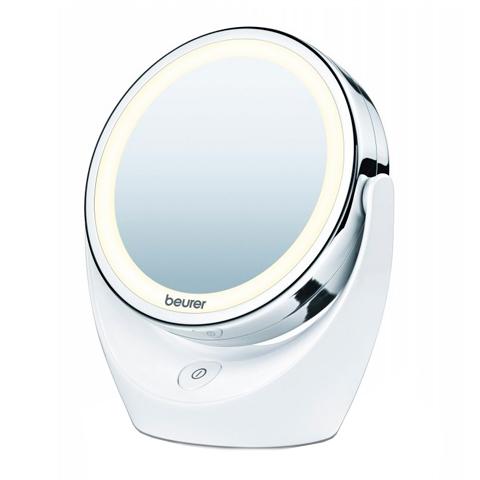 зеркало Beurer Бойрер Косметическое зеркало с подсветкой BS49 зеркало косметическое belberg bz 02 с подсветкой