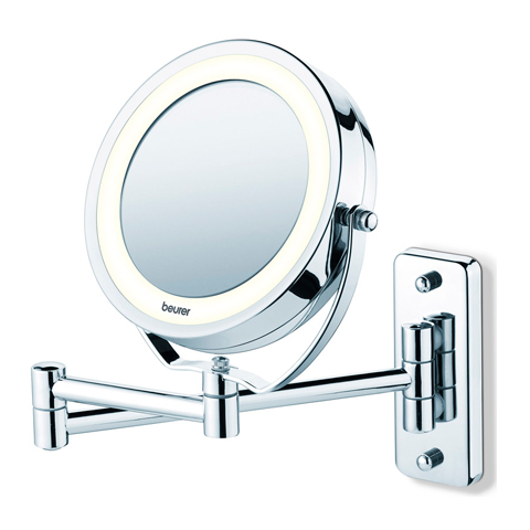 зеркало Beurer Бойрер Косметическое зеркало с подсветкой BS59 зеркало косметическое belberg bz 02 с подсветкой