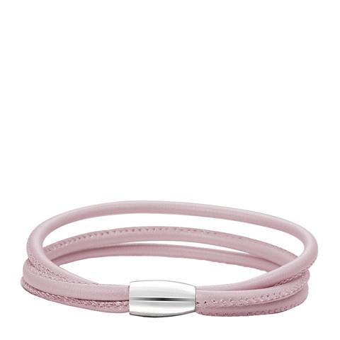 PerfectStyle Браслет кожаный розовый тройной от Perfectoria