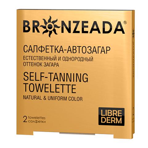 Либридерм Бронзиада Салфетка-автозагар №2 (Упаковка 2 шт) (Librederm)