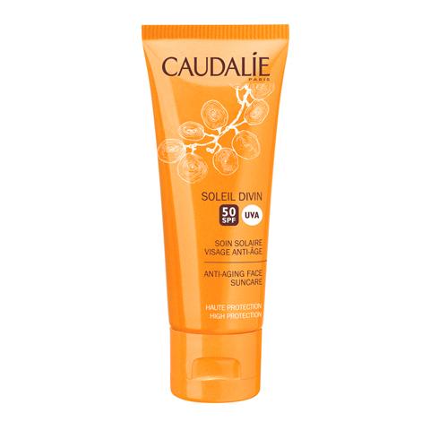 крем Caudalie Кодали Уход солнцезащитный антивозрастной для лица SPF50  (Туба 40 мл) турбослим турбослим крем для лица туба 50 мл