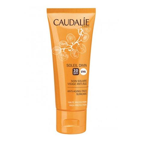 крем Caudalie Кодали Уход солнцезащитный антивозрастной для лица SPF30  (Туба 40 мл) концентрат caudalie кодали виноперфект эссенция концентрат для сияния кожи флакон 150 мл