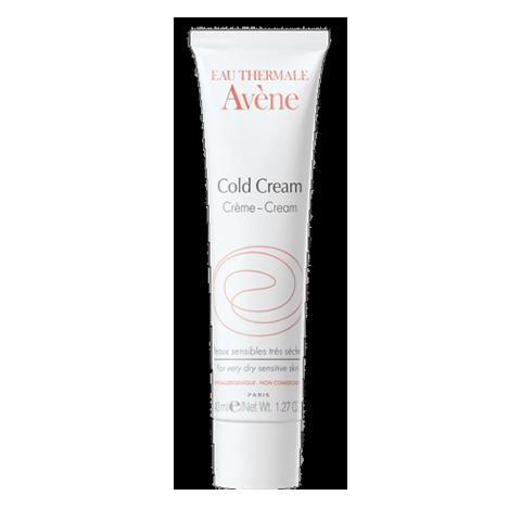 Авен Колд-крем (Туба 100 мл)Уход за сухой и атопичной кожей<br>Avene Cold cream (Авен Колд-крем) для атопичной, сухой, чувствительной кожи.<br>Обогащенный природными маслами Avene Cold cream интенсивно питает сухую чувствительную кожу, защищает ее от агрессивного воздействия внешних факторов, снимает раздражение и успокаивает. При регулярном применении восстанавливает гидрофильную пленку, предотвращает появление покраснений и шелушений, убирает чувство стянутости и жжения. Быстро впитывается благодаря легкой текстуре. Активные компоненты:<br>термальная вода Aveneубирает неприятные ощущения стянутости и покалывания, смягчает, успокаивает чувствительную кожу;<br>осветленный пчелиный восксоздает защитную пленку, препятствуя появлению раздражений под воздействием внешних факторов;<br>комплекс природных маселмягко питает и возвращает коже ощущение комфорта.<br><br>Объем мл: 100<br>Тип кожи: атопичной, сухой, чувствительной