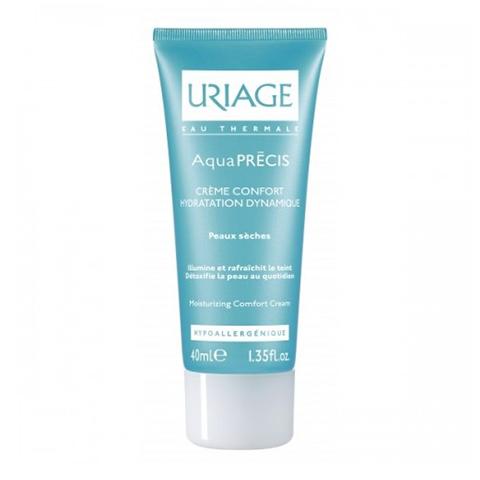 Урьяж Аквапреси Крем-комфорт для сухой кожи (Туба 40 мл) (Uriage)