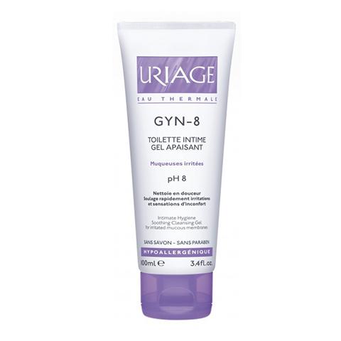 Урьяж Жин -8 Гель для интимной гигиены успокаивающий  (Туба 100 мл) (Uriage)