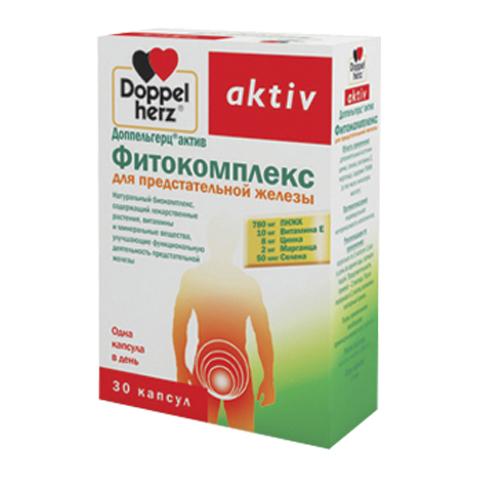 добавка пищевая Doppelherz Доппельгерц Актив Фитокомплекс для предстательной железы (30 капсул)