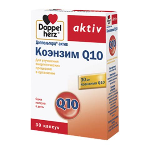 добавка пищевая Doppelherz Доппельгерц Актив Коэнзим Q10 (30 капсул) heliotrop vital q10 104 he794