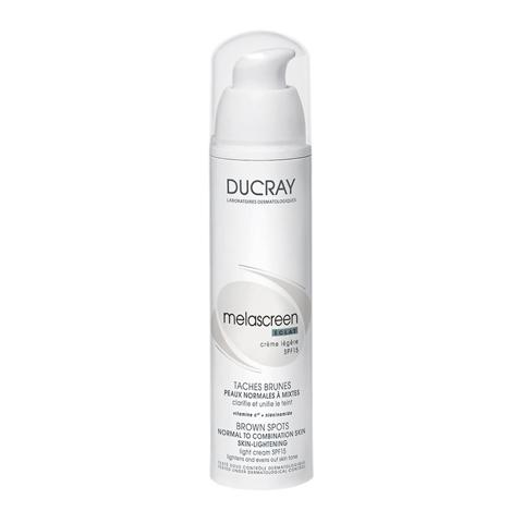 крем Ducray Дюкрэ Меласкрин Лёгкий отбеливающий крем  SPF15 (Флакон 40 мл) основа под макияж spf15 40