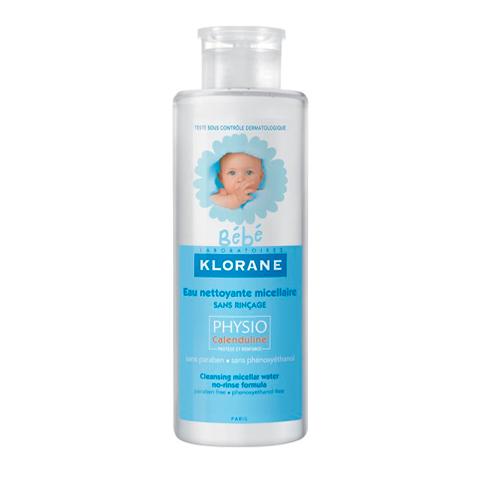 Клоран Бебе Мицеллярная вода Физио с экстрактом календулы (Флакон с помпой 500 мл) (Klorane)
