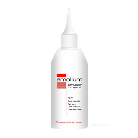 эмульсия Emolium Эмолиум Эмульсия для сухой кожи головы (Флакон 100 мл)