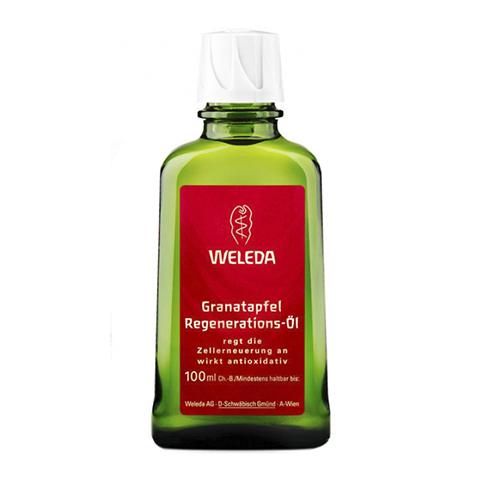 масло Weleda Веледа Гранат Масло восстанавливающее для тела (Флакон 100 мл) darphin восстанавливающее масло для лица тела и волос восстанавливающее масло для лица тела и волос