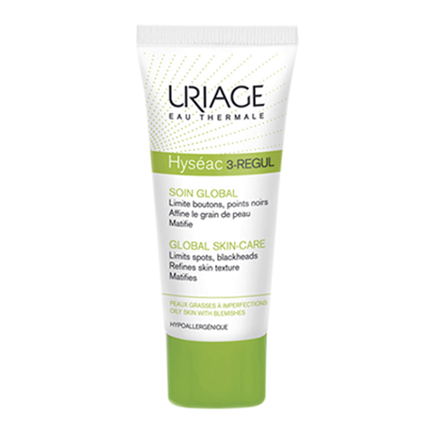 Урьяж Исеак 3-Регул Универсальный уход для жирной и проблемной кожи (Тюбик 40 мл) (Uriage)