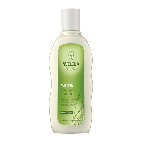 Веледа Пшеница Шампунь от перхоти (Флакон 190 мл)Уход за волосами<br>Weleda Weizen Schuppen-Shampoo (Веледа Пшеница Шампунь от перхоти) для всех типов кожи и волос.<br>Шампунь Weleda Weizen Schuppen-Shampoo на мягкой моющей основе с первого применения очищает волосы и кожу головы от видимых чешуек перхоти. Аромат с древесно-пряными, перечными нотами освежает и бодрит. Масло зародышей пшеницы и натуральные растительные экстракты нормализуют гидролипидный баланс кожи головы, восстанавливают ее здоровую структуру.<br>Веледа Шампунь с пшеницей от перхоти делает волосы гладкими, упругими и сияющими, обеспечивает легкое расчесывание. После применения на коже головы образуется воздухопроницаемая пленка, которая сохраняет влагу и снижает реактивность.<br>Активные компоненты:<br>аминокислоты овса и аргинин насыщают клетки витаминами и микроэлементами, необходимыми для здоровья кожи и волос;<br>масло зародышей пшеницы увлажняет и смягчает кожу головы, стимулирует процессы регенерации;<br>экстракт шалфея проявляет антисептические и антибактериальные свойства, нормализует синтез себума, тонизирует кожу головы;<br>экстракт иглицы колючей ускоряет микроциркуляцию кожи головы, снимает воспаление;<br>экстракт фиалки трехцветной успокаивает раздражение, стимулирует синтез и активность аквапоринов, способствует улучшению естественной гидратации кожи;<br>молочная кислота отшелушивает отмершие чешуйки, увлажняет кожу, ускоряет клеточное обновление;<br>ксантановая камедь защищает кожу головы и волосы от пересыхания.<br><br>Тип кожи: всех типов