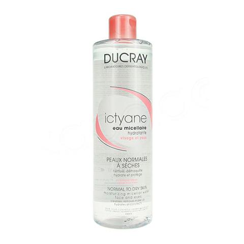 Дюкрэ Иктиан Мицеллярная вода для лица и глаз (Флакон 400 мл) (Ducray)