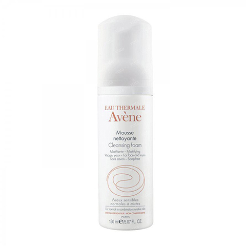 Авен Пенка очищающая для лица и контура глаз (Флакон 150 мл) (Avene)