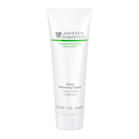 крем Janssen Янсен Крем балансирующий с тонирующим эффектом для комбинированной кожи (Туба 50 мл) синяк off с тонирующим эффектом 30г