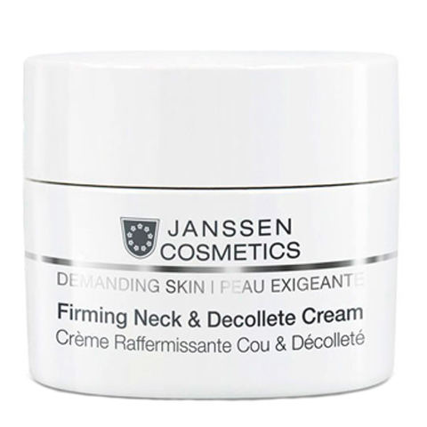 крем Janssen Янсен Требовательная кожа Крем укрепляющий для кожи шеи и декольте (Банка 50 мл)