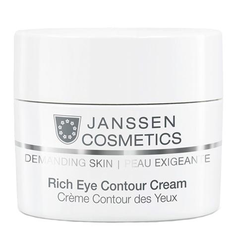 крем Janssen Янсен Требовательная кожа Крем питательный для кожи вокруг глаз (Банка 15 мл) janssen rich eye contour cream питательный крем для кожи вокруг глаз 15 мл