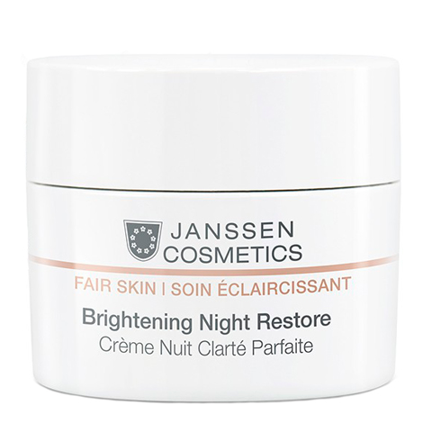крем Janssen Янсен Крем Ночной осветляющий (Банка 50 мл) janssen collagen fair skin осветляющий коллаген 1 белый лист