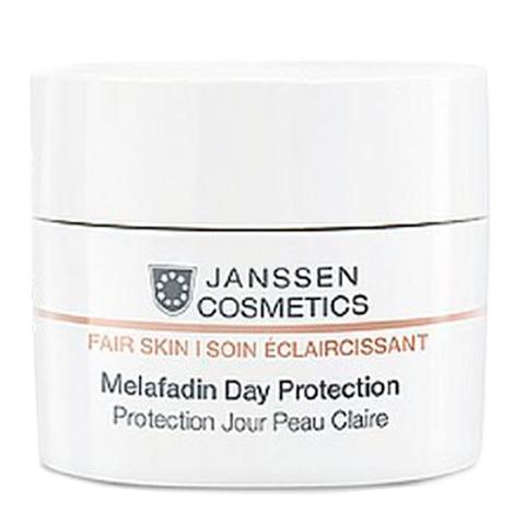 крем Janssen Янсен Мелафадин Крем Дневной осветляющий SPF 20 (Банка 50 мл) пилинг janssen янсен пилинг крем для выравнивания цвета лица туба 50 мл