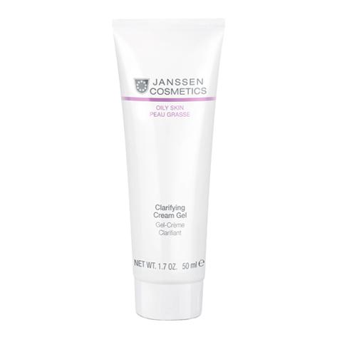 крем Janssen Янсен Крем-гель себорегулирующий для жирной кожи  (Туба 50 мл) janssen янсен набор увлажнение аквапорин 511 590