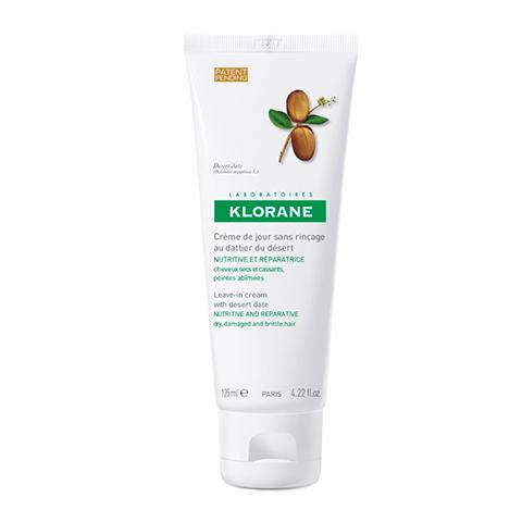 Клоран Крем для волос питательный дневной с маслом финика пустынного (Туба 125 мл) (Klorane)
