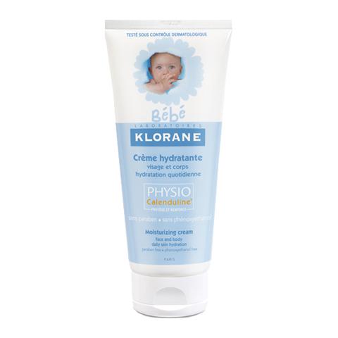 Клоран Бебе Крем увлажняющий с Физио экстрактом Календулы (Туба 200 мл) (Klorane)