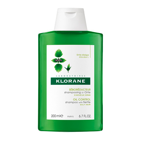 Клоран Шампунь с экстрактом Крапивы (Флакон 200 мл) (Klorane)