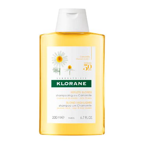 Клоран Шампунь с экстрактом Ромашки (Флакон 200 мл) (Klorane)
