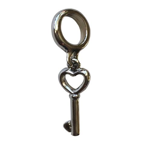 PerfectStyle Подвеска-шарм Серебристый ключик от Perfectoria