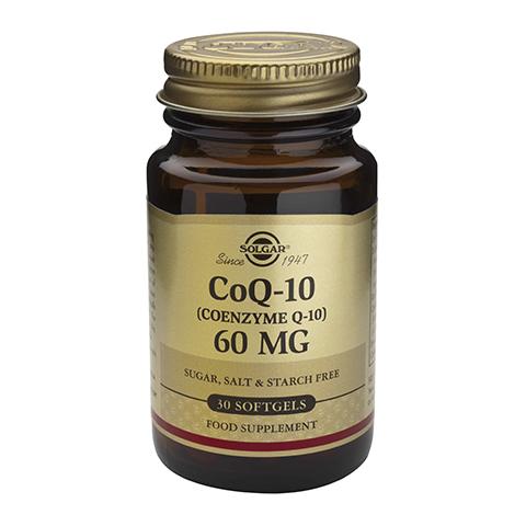 Солгар Коэнзим Q-10 60 мг (30 капсул)Здоровье<br>Solgar Megasorb CoQ-10 60 mg (Солгар Коэнзим Q-10 60 мг) <br>Коэнзим Q-10 – вещество, которое присутствует во всех клетках организма и отвечает за выработку энергии. Оно особенно необходимо для поддержания работы сердца, мозга и сосудов, предупреждения повышенной утомляемости, повышения устойчивости к стрессам. Solgar Megasorb CoQ-10 60 mg поможет вам предотвратить многие заболевания сердечно-сосудистой системы, восполнить запасы жизненной энергии, поддержать организм в период повышенной физической, эмоциональной или умственной нагрузки. Коэнзим Q-10 проявляет антиоксидантные свойства, что помогает предупредить ранее старение. Солгар Коэнзим Q-10 60 мг показан людям, принимающим препараты из группы станинов. В капсулу добавки добавлено масло рисовых отрубей для улучшения усвоения препарата.<br>Активные компоненты: <br>коэнзим Q-10 (убихинон) участвует в выработке клеточной энергии, поддерживает работу сердца, мышц, мозга, а также проявляет антиоксидантное действие. <br>Не содержит глютена, пшеницы, молочных продуктов, дрожжей, сахара, натрия, подсластителей.<br>Без консервантов.<br><br>Тип кожи: всех типов