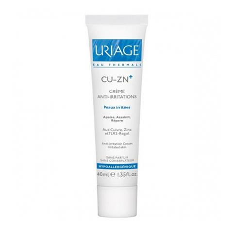 Урьяж Cu-Zn+ Крем против раздражений (Туба 40 мл) (Uriage)