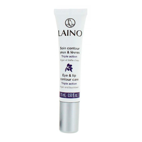 Лено Уход для контура глаз и губ с аргановым маслом (Туба 15 мл) (Laino)