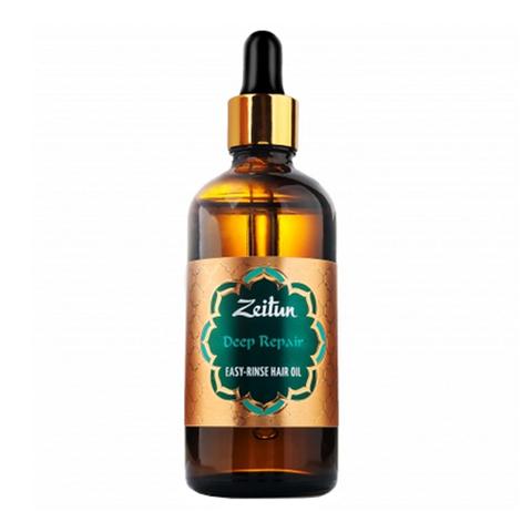 масло Zeitun Зейтун Масло для волос легкосмываемое Глубокое восстановление (Флакон 100 мл)