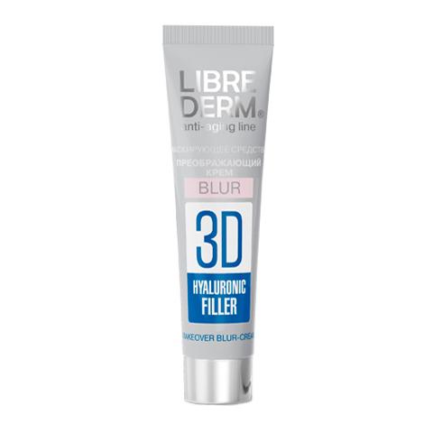 филлер Librederm Либридерм 3D Гиалуроновый филлер Крем-BLUR преображающий (Туба 15 мл) крем librederm либридерм 3d гиалуроновый филлер крем дневной для лица spf15 флакон с дозатором 30 мл